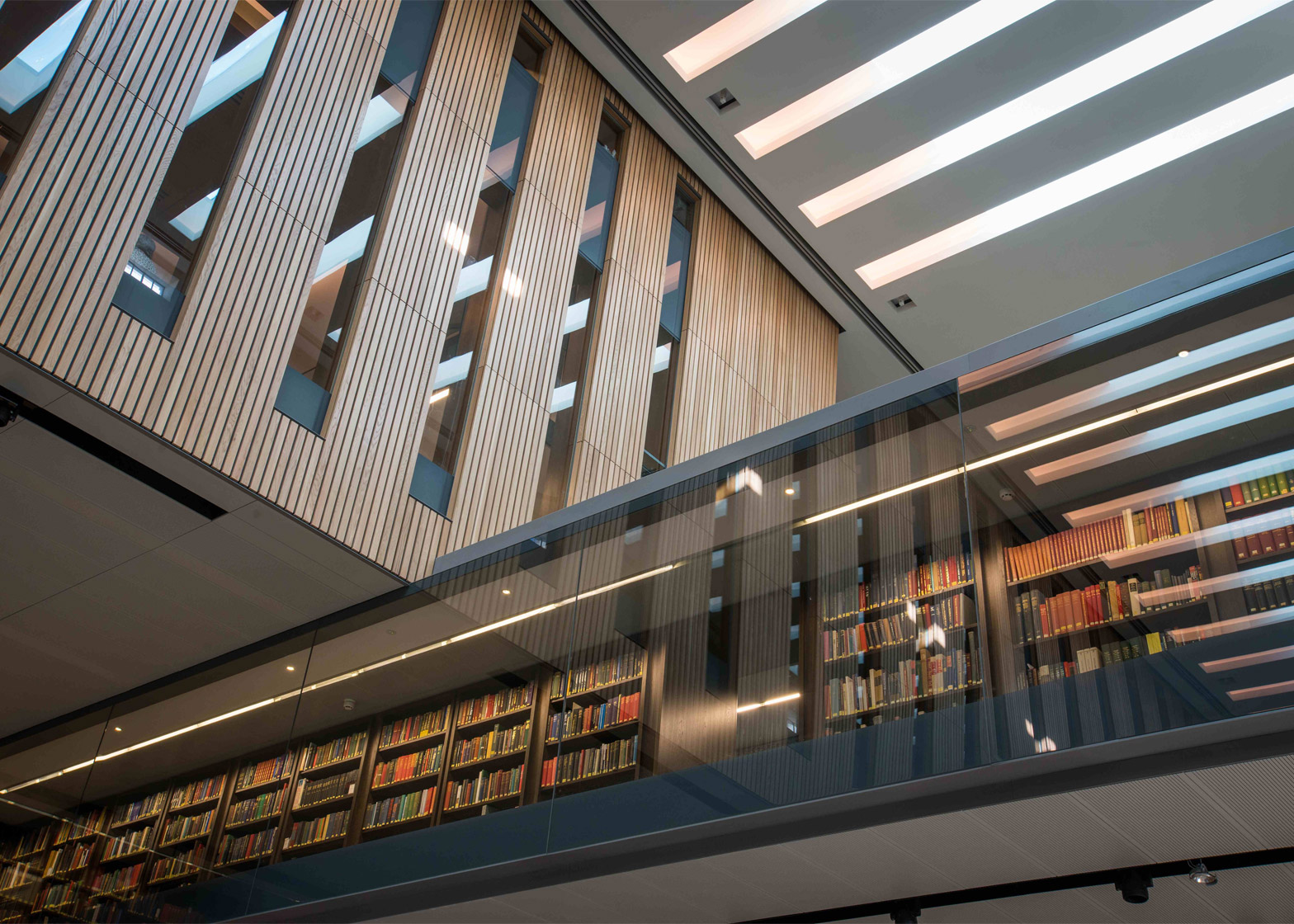 Weston Library, University of Oxford by WilkinsonEyre. Photograph by John Cairns
