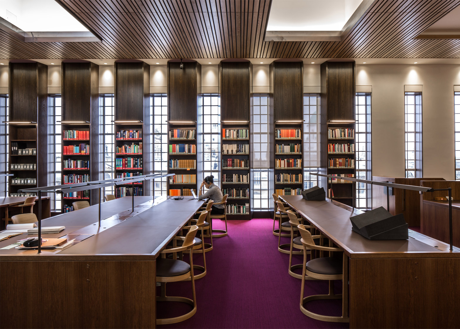 Weston Library, University of Oxford by WilkinsonEyre. Photograph by Will Pryce