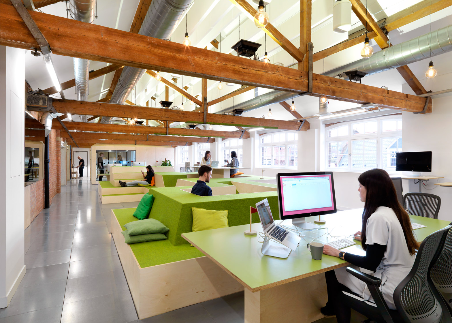 AirBnB's London office features in this piece about a What Workers Want survey in the UK