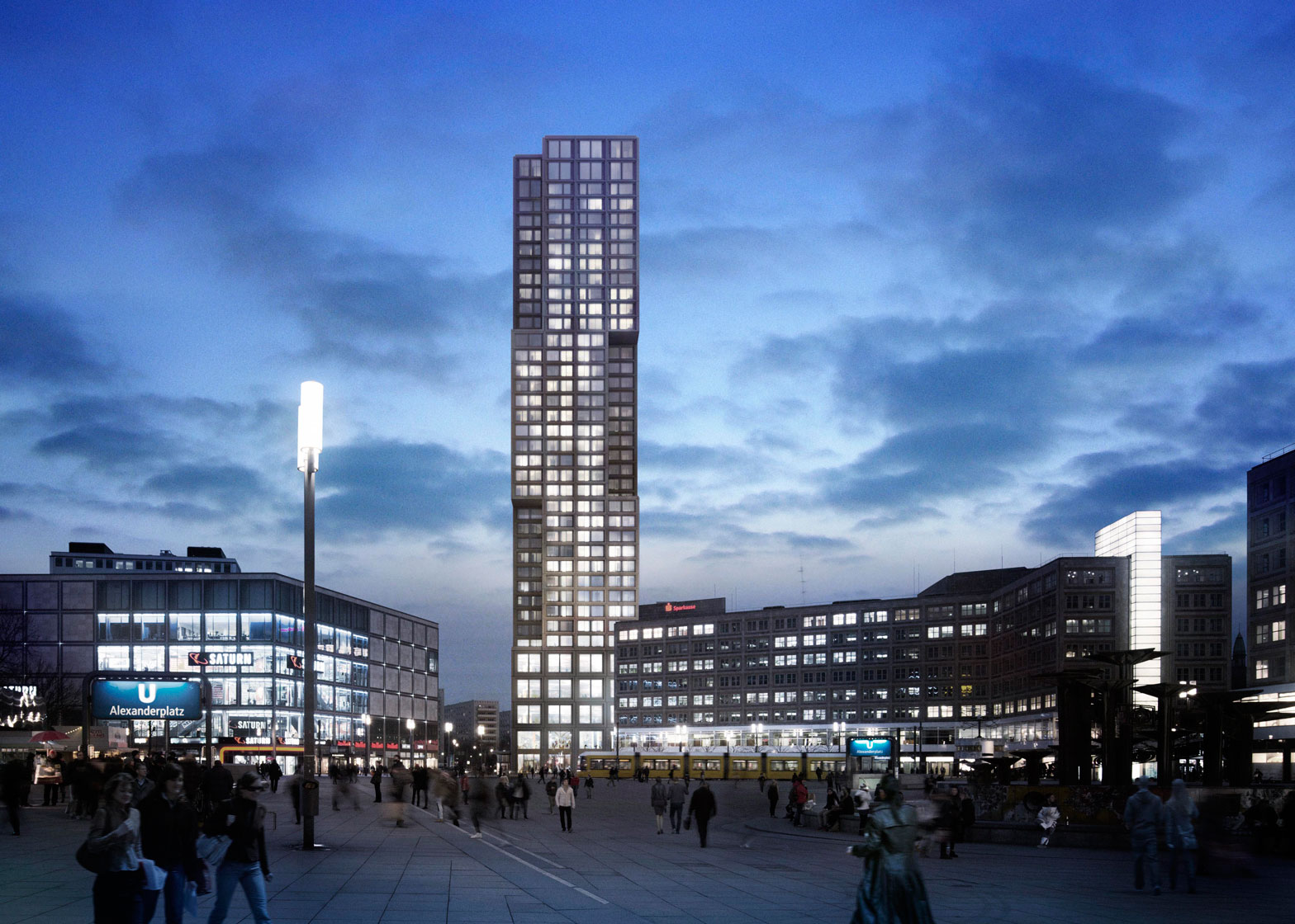 Plans unveiled for Berlin's new tallest skyscraper