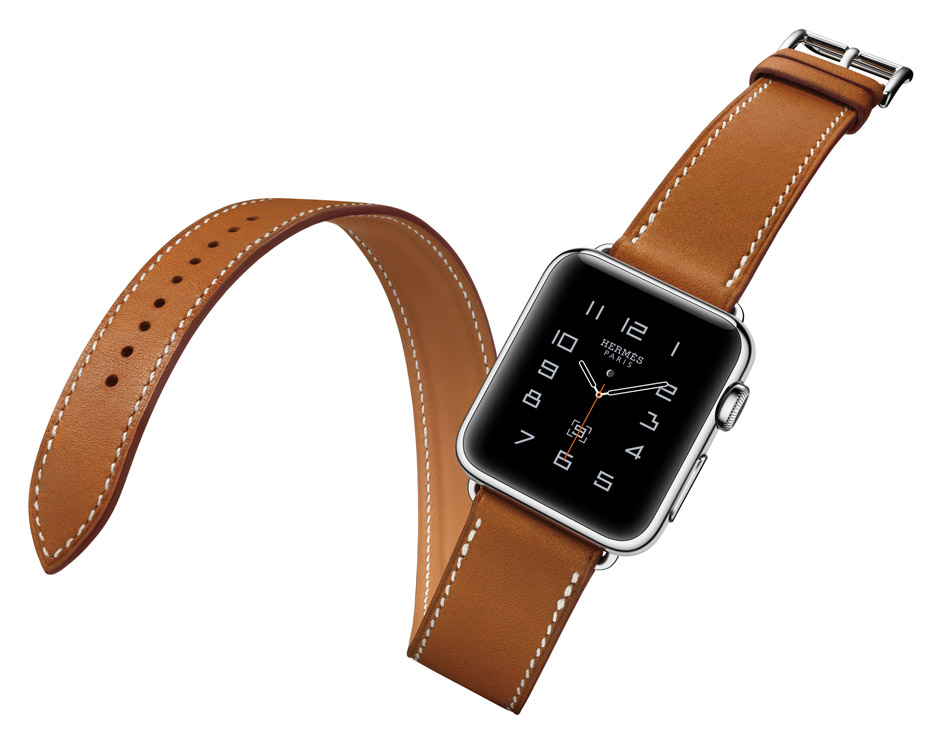 Apple's smartwatch, designed with fashion label Hermes