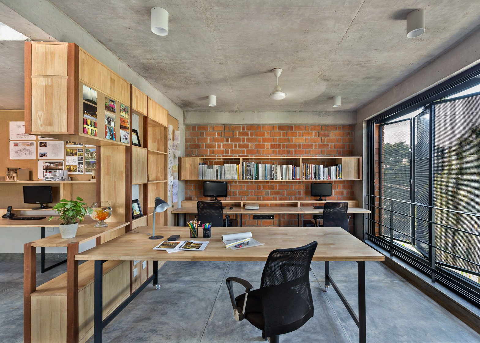 Lovely ... Architects Home Studio Betweenspaces Bangalore_dezeen_1568_0 Good Looking