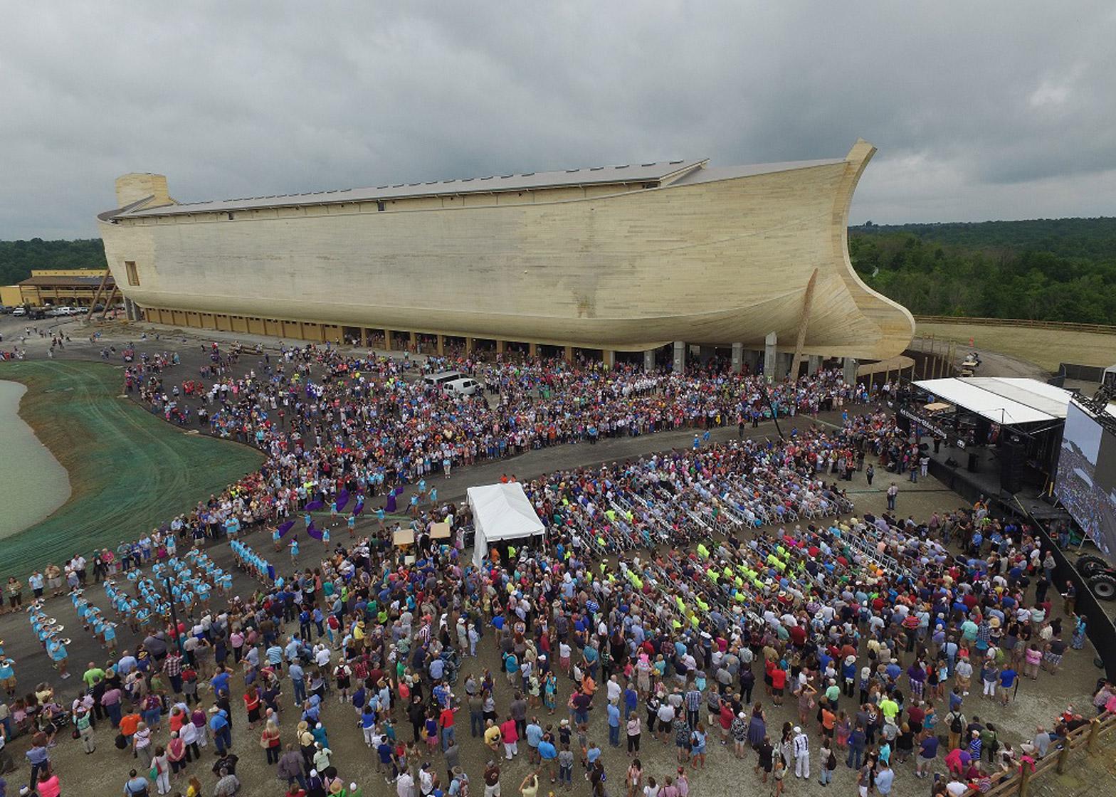 flash floods hit kentucky as noah u0027s ark theme park opens