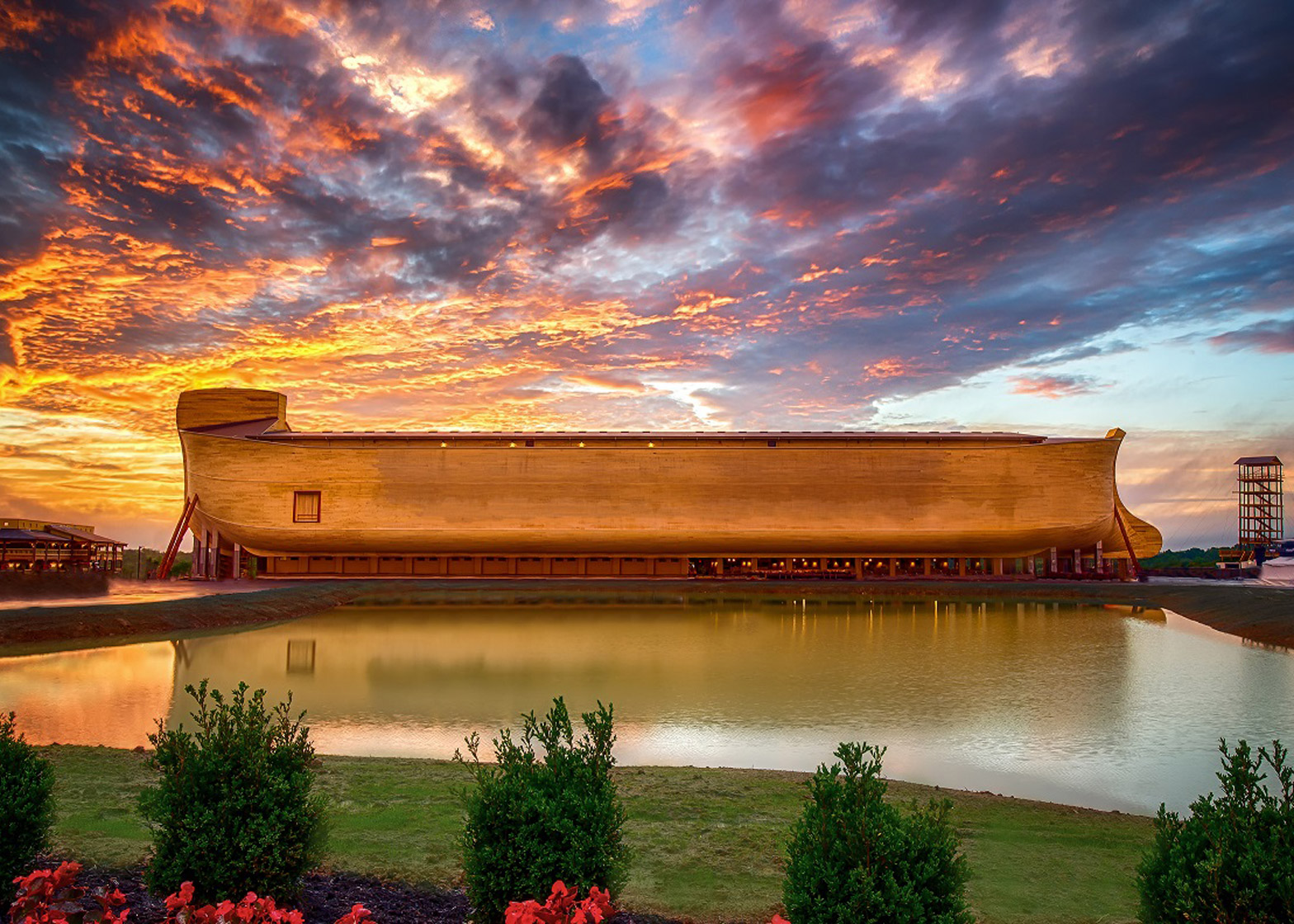 11 Of Troyer Group Opens Noahs Ark Theme Park In Kentucky As Flash Floods Hit The State