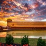 Noah's Ark theme park opens in Kentucky as flash floods hit the US