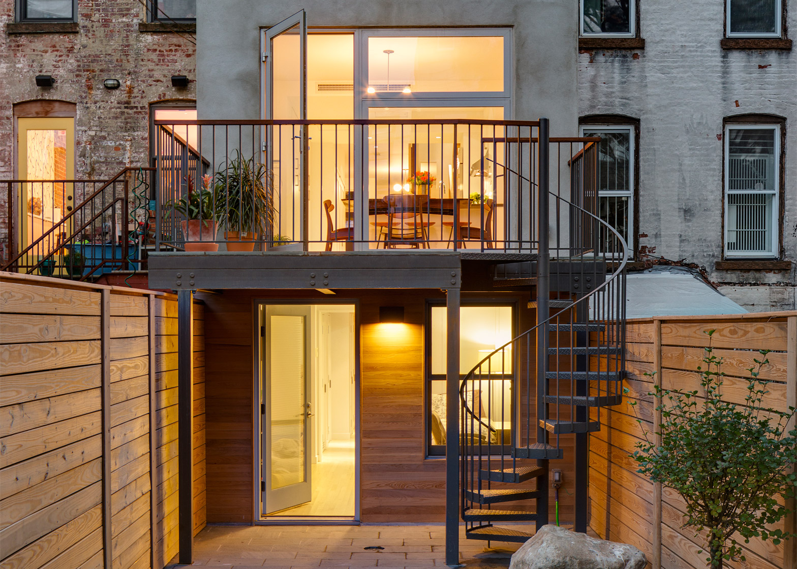 Rowhouse Extension by Barker Freeman