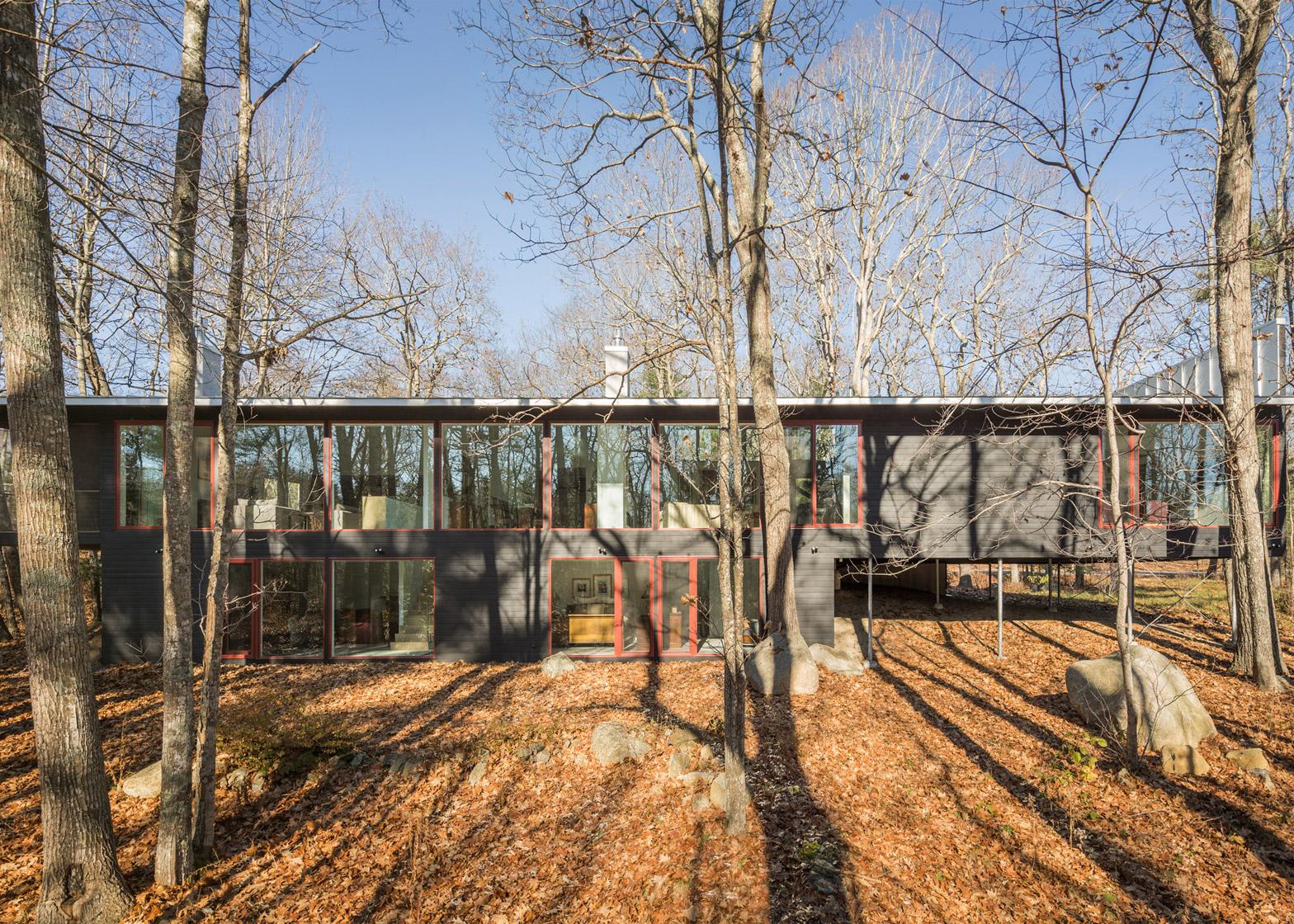 Batson River Residence by Carol A Wilson