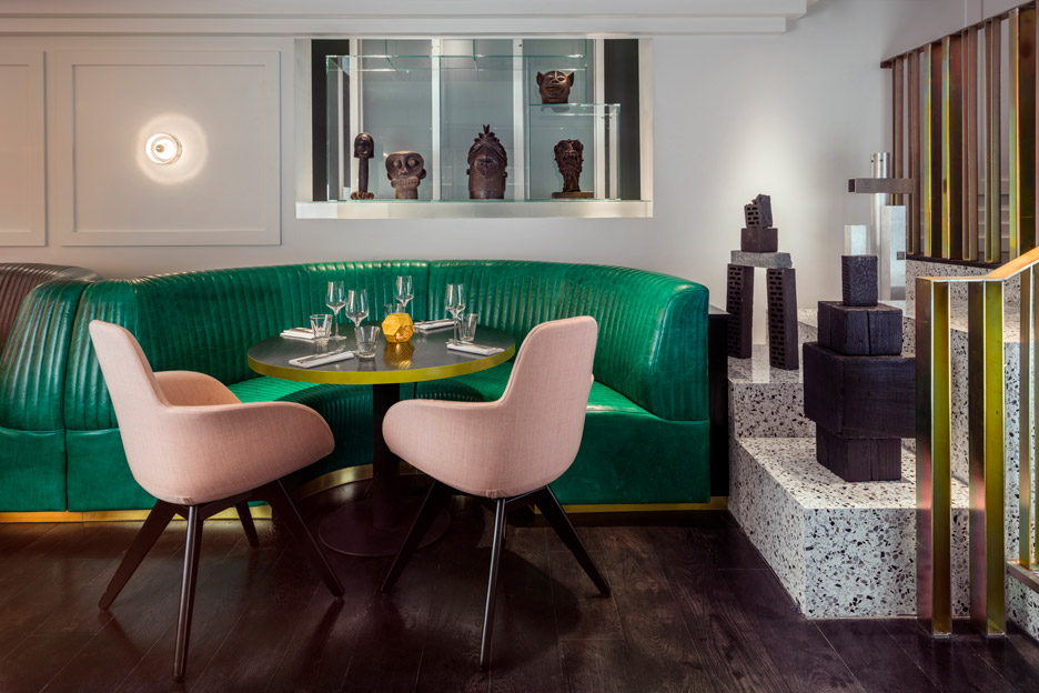 Bronte restaurant interiors by Tom Dixon