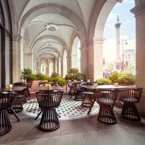 Tom Dixon transforms London Regency building into explorer-themed Bronte restaurant