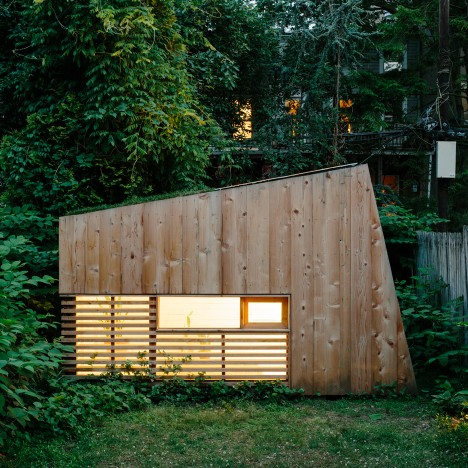 """Dream of working from your own backyard in New York"" fuels Brooklyn garden studio trend"