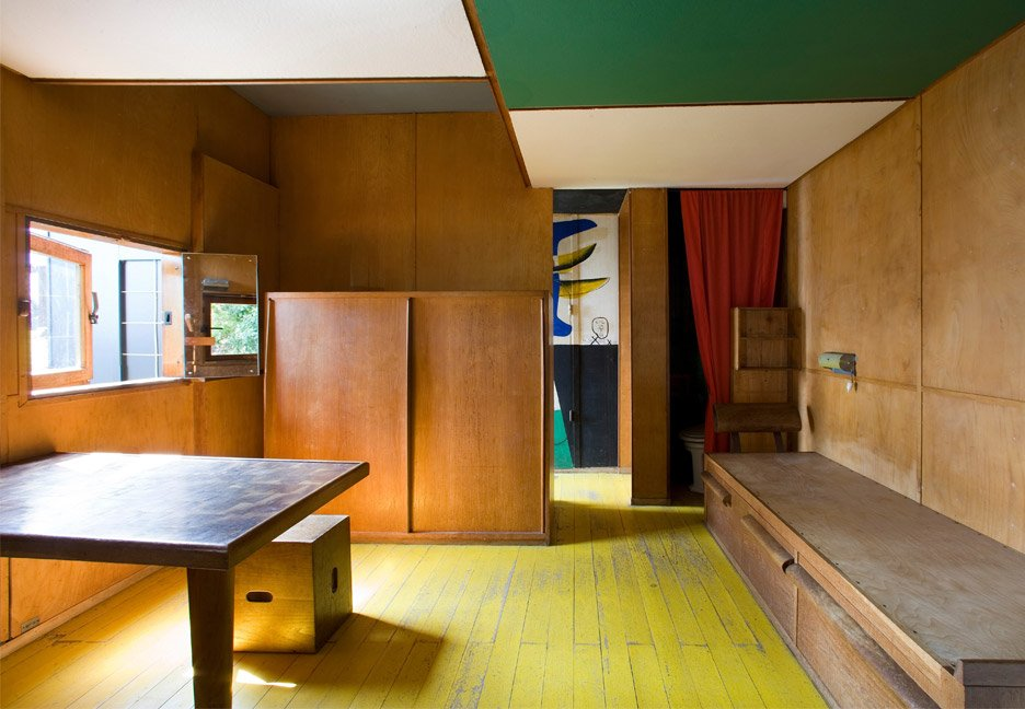 Cabanon is one of 17 UNESCO heritage Le Corbusier buildings