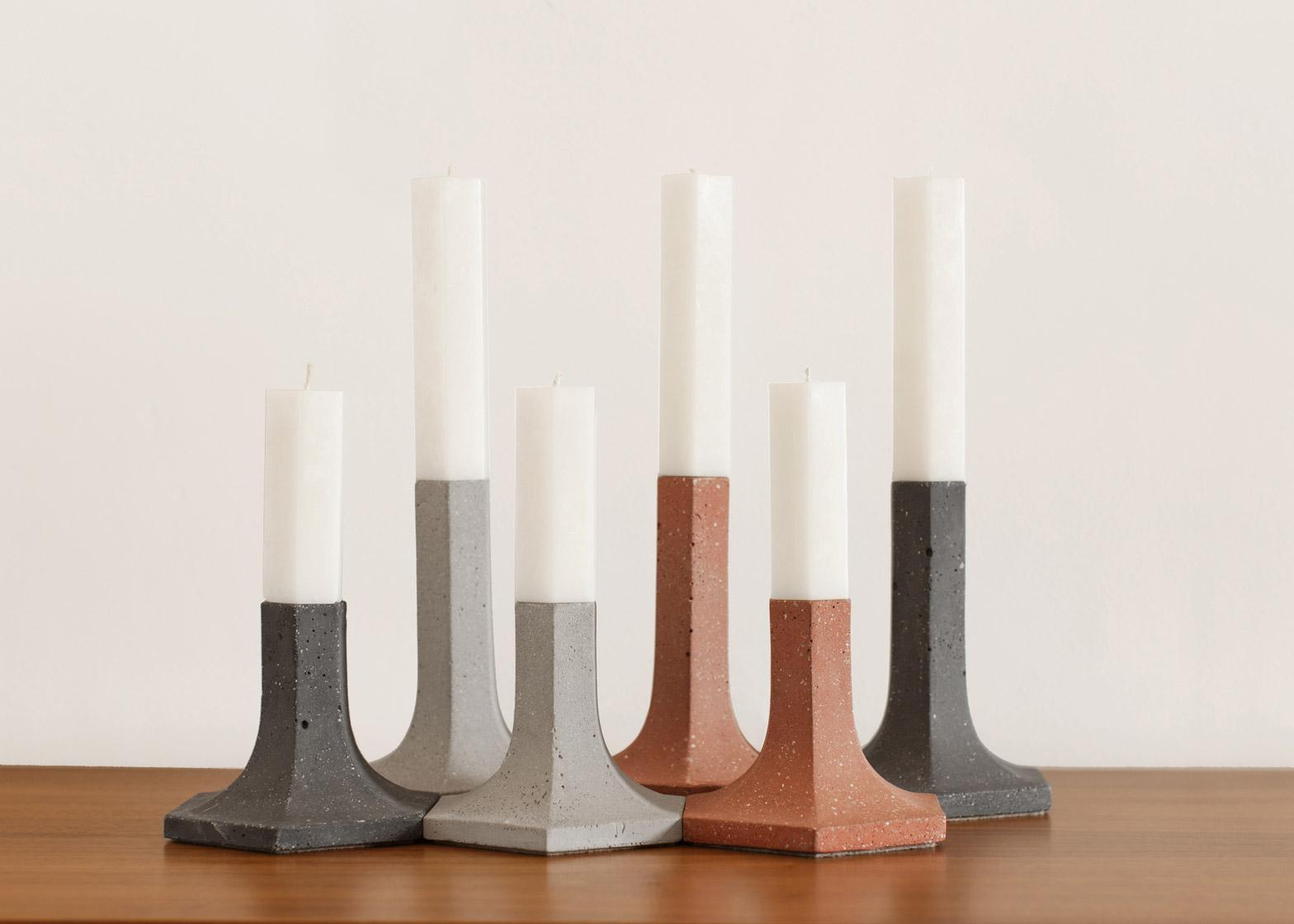 Candela candlesticks by La Selva