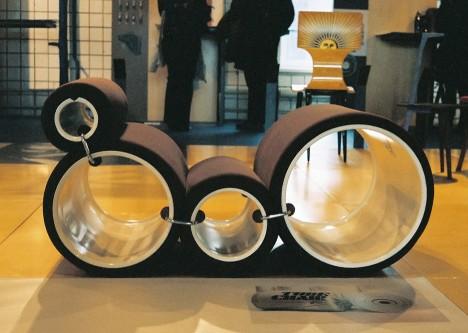 Cappellini reissues Joe Colombo's classic 1960s Tube Chair