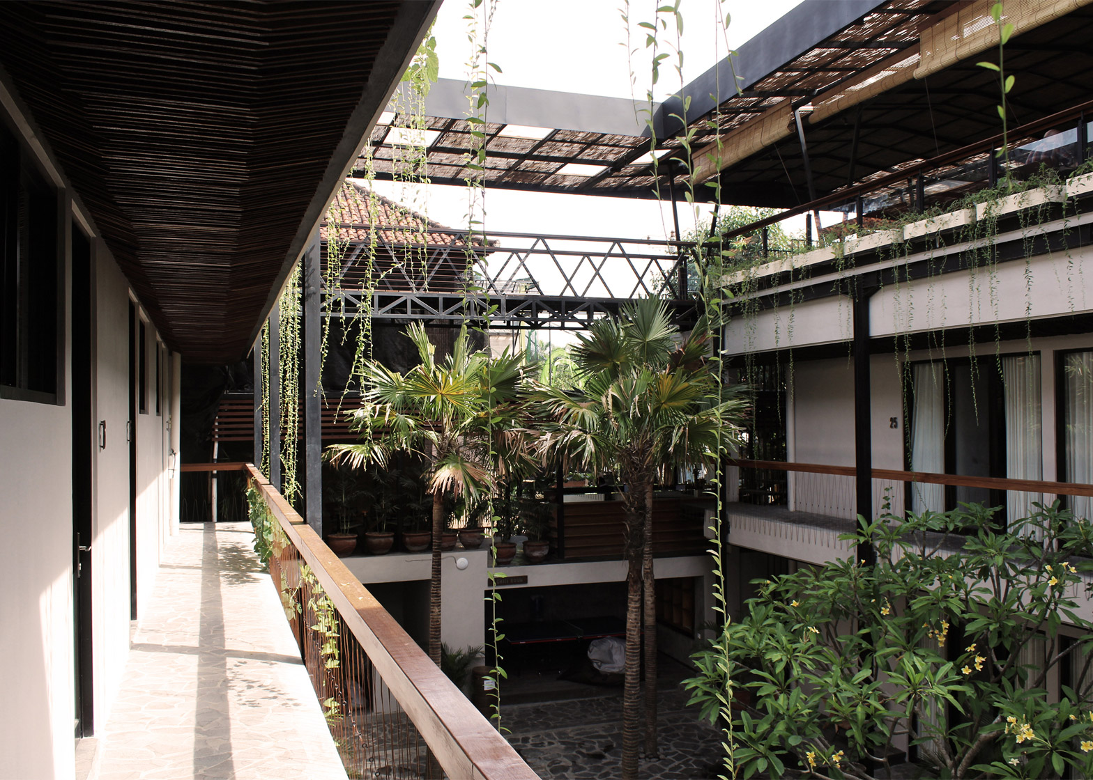 Roam Co-living Housing complex, Bali, by Alexis Dornier