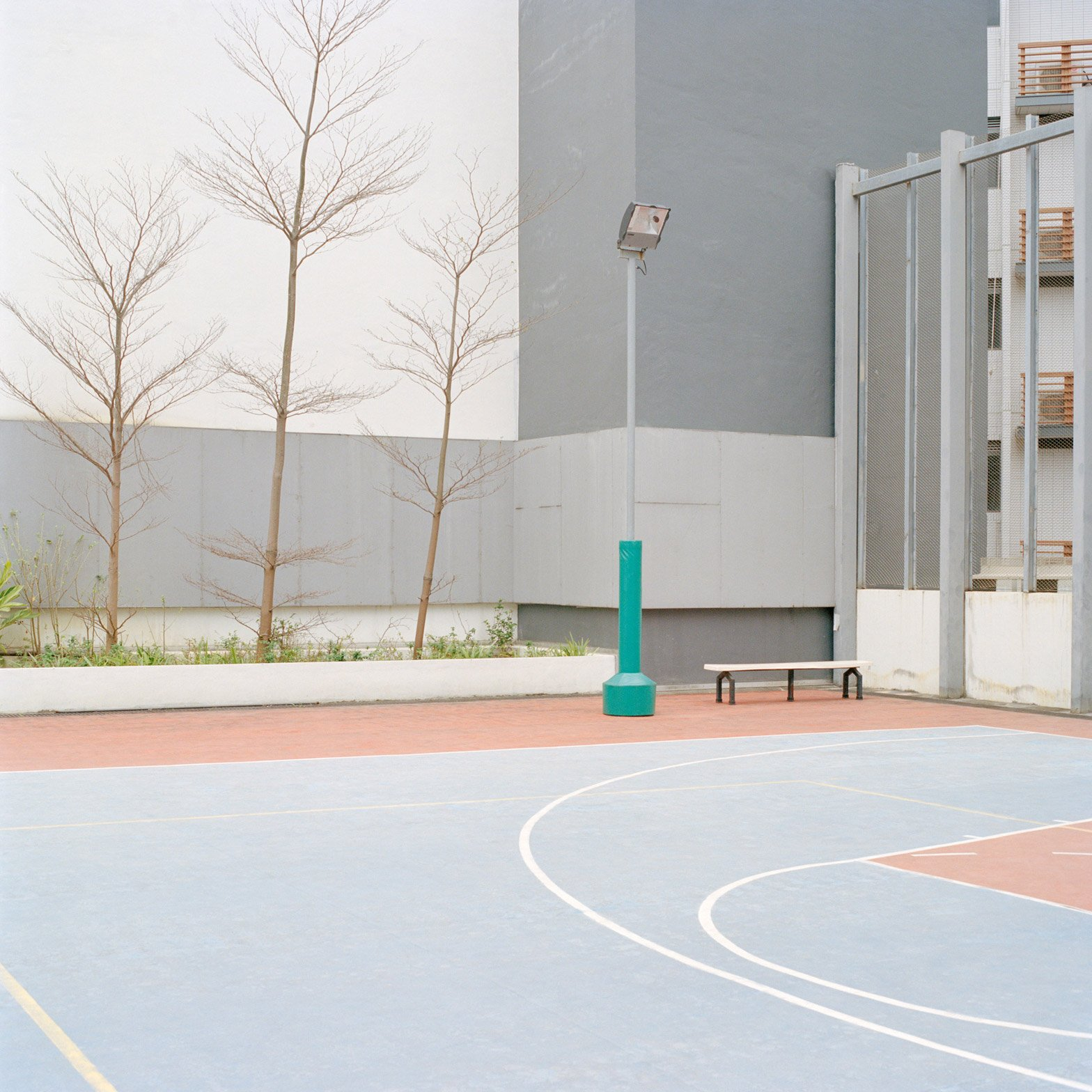 """Courts"" by Ward Roberts"