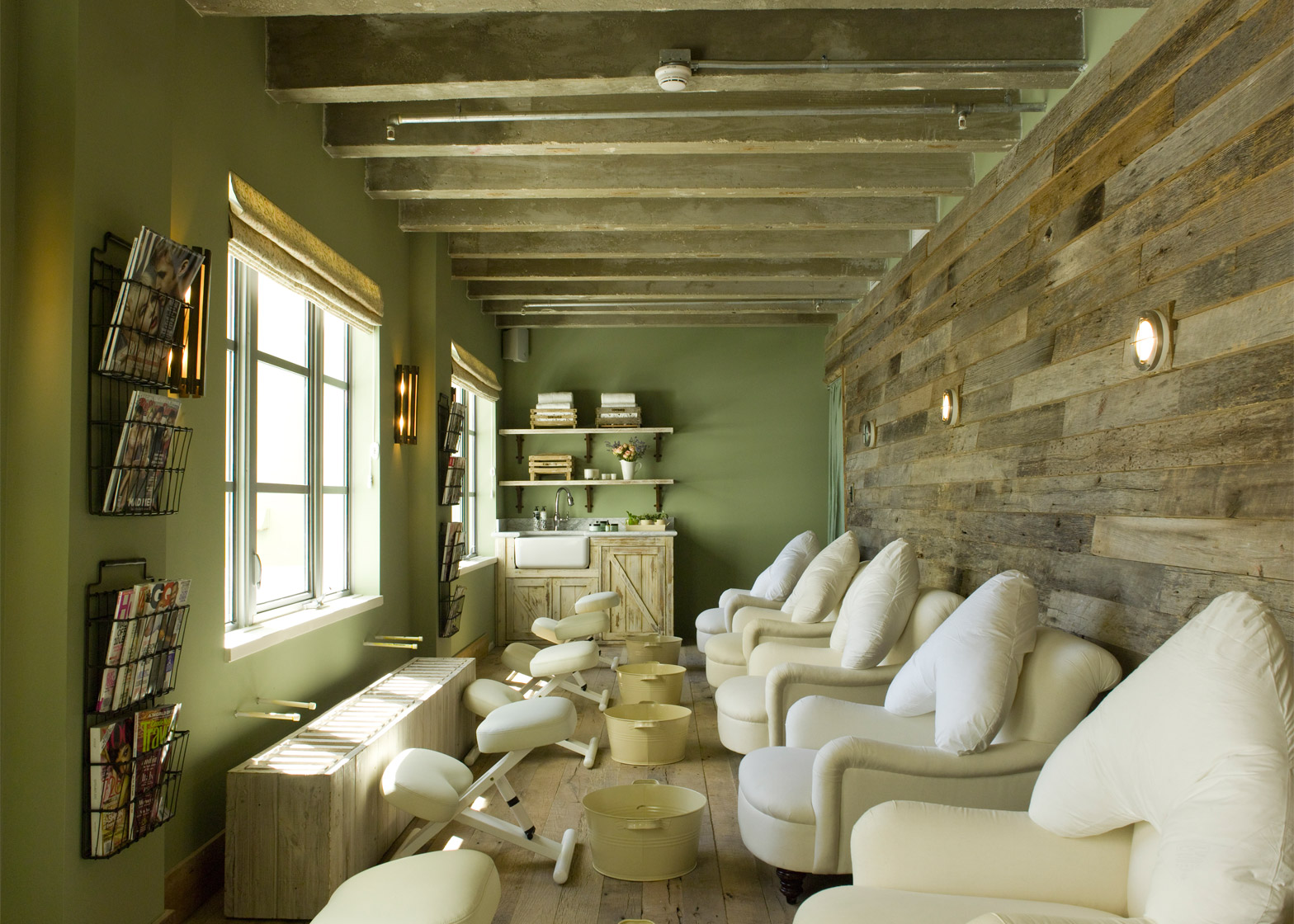 Cowshed spa at Soho Beach House, Miami, USA