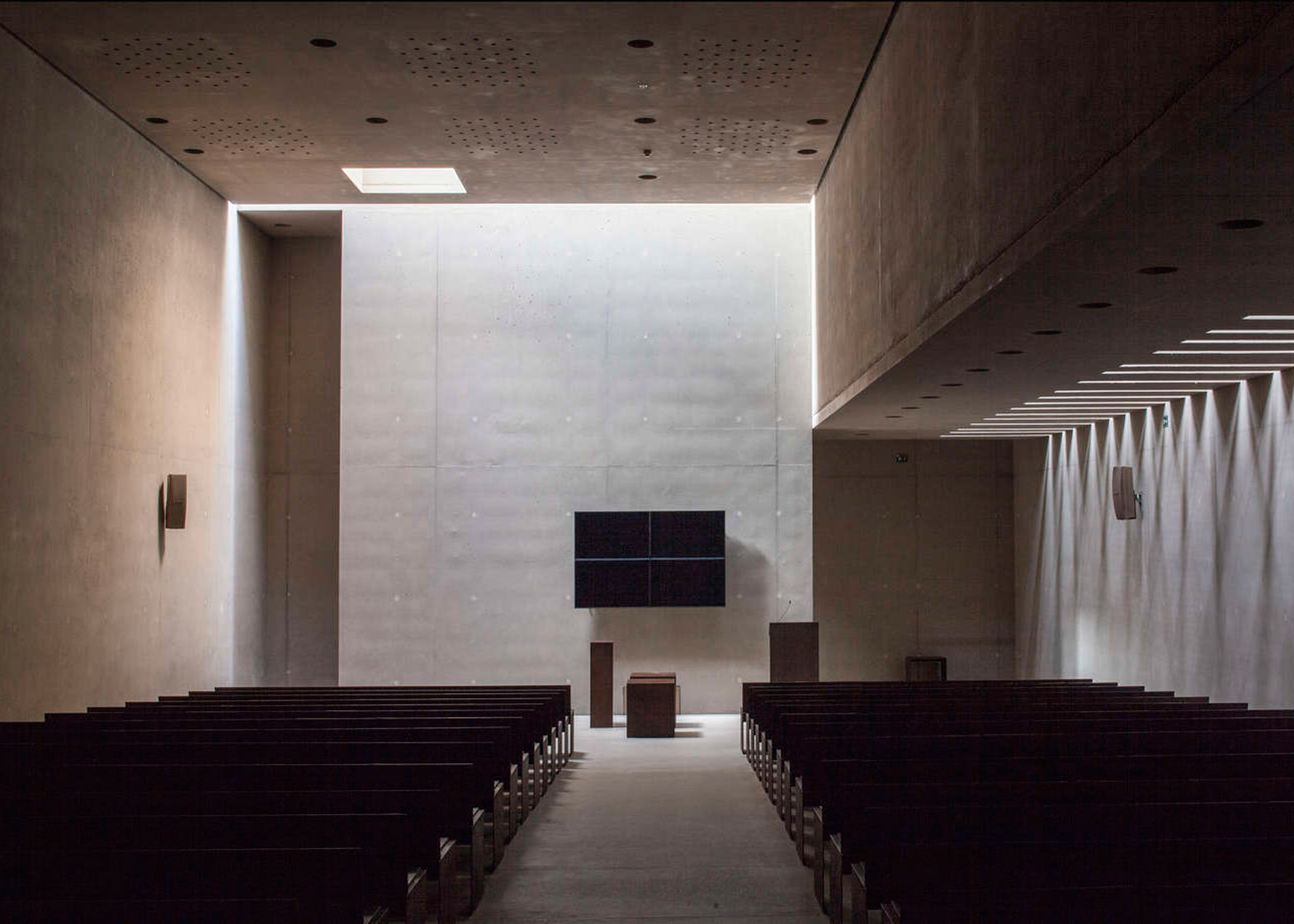 Crematorium Hofheide in Belgium by Coussée & Goris architecten and RCR Arquitectes