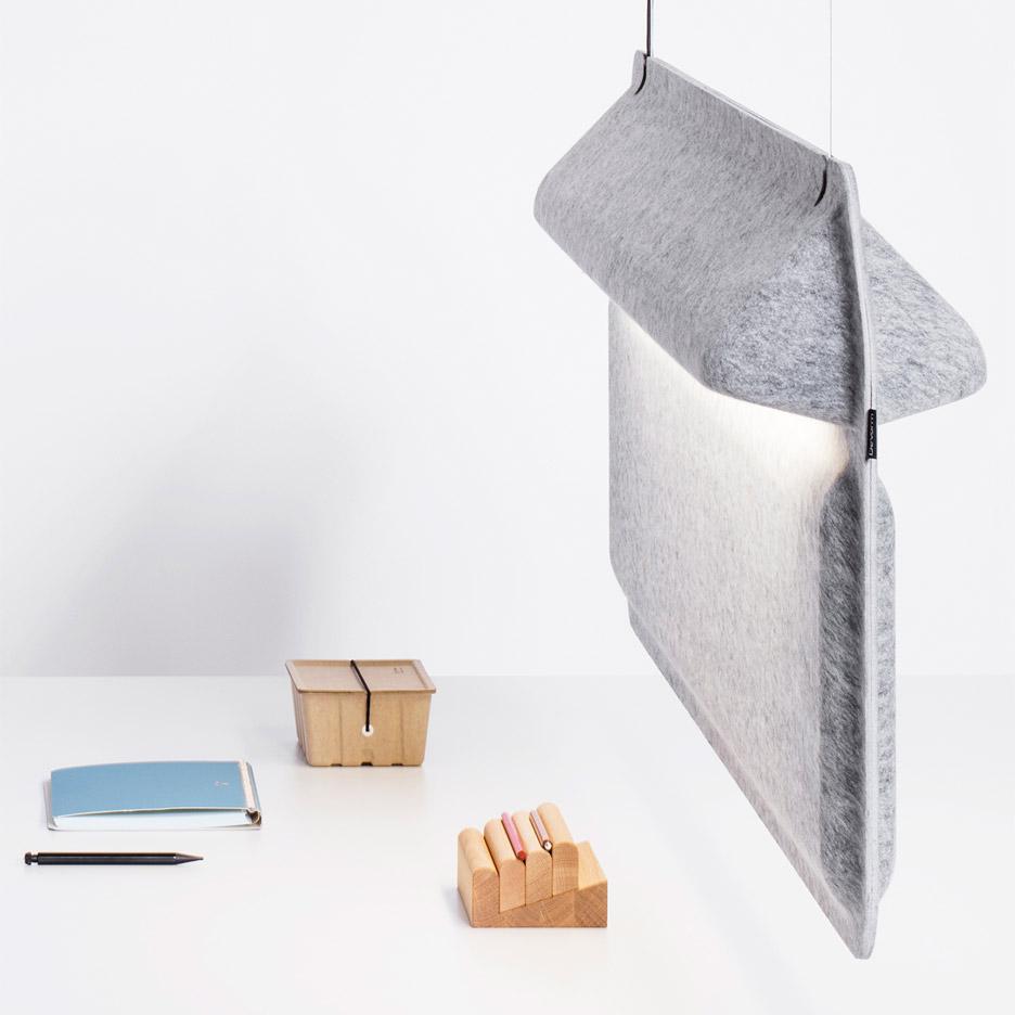Divider Lamp by De Vorm