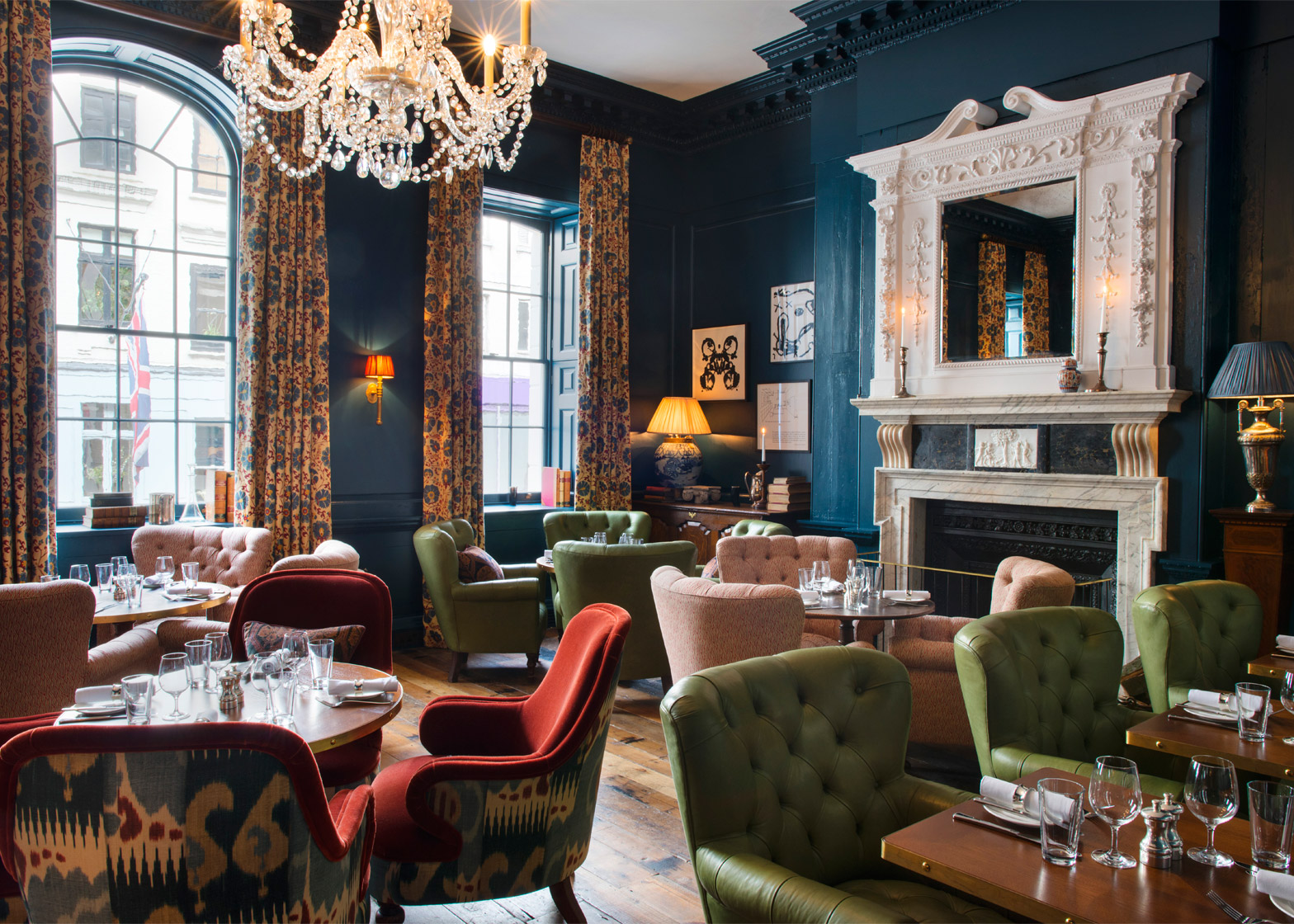 Soho House 76 Dean Street, London, England