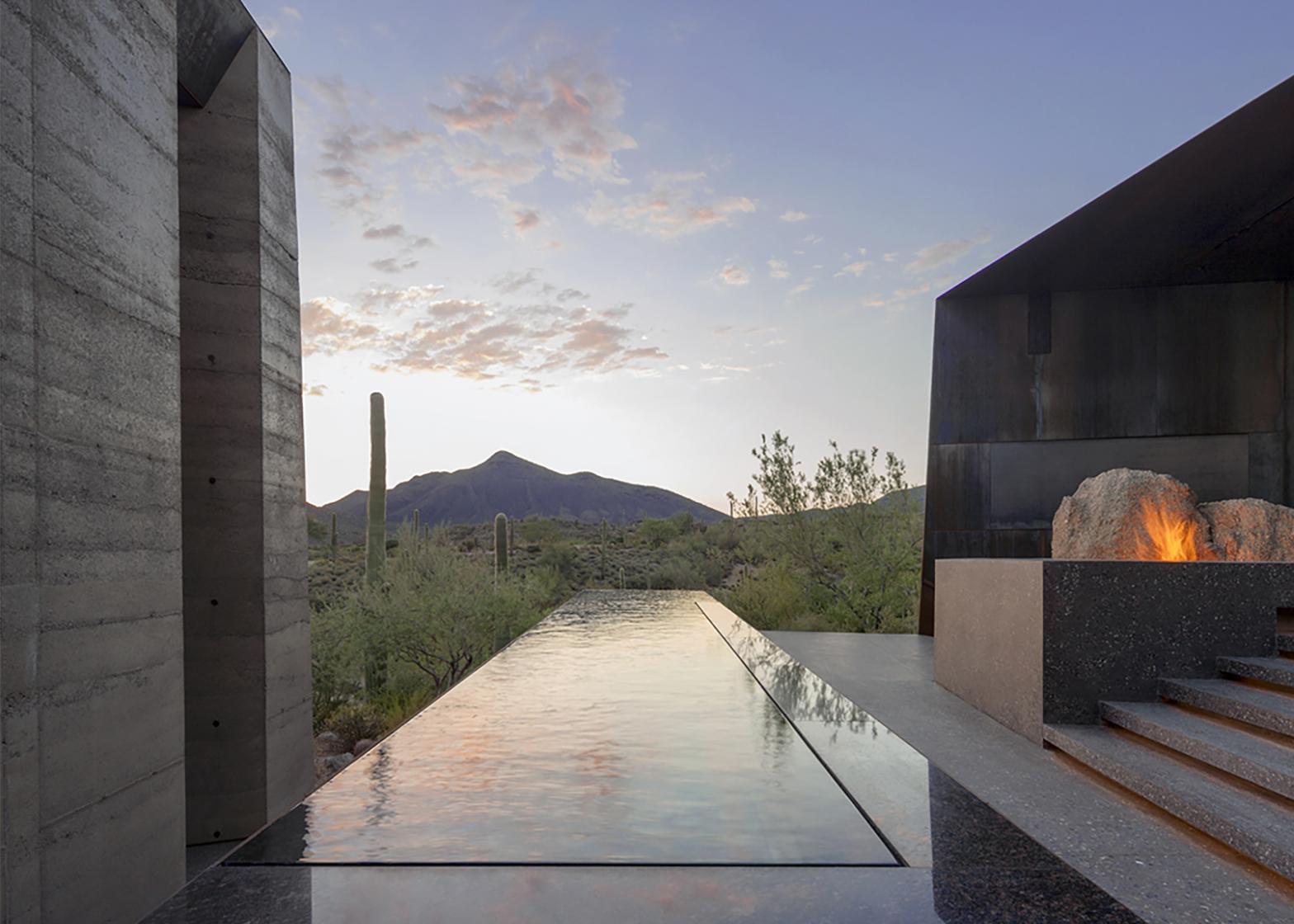 Desert Courtyard House by Wendell Burnette Architects