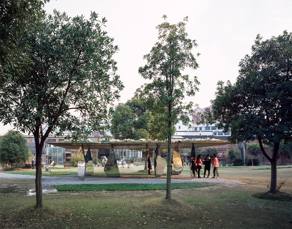 Blossom Pavilion by Deshaus Atelier in Shanghai