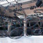 Villa Eugénie designs funfair-themed set for Dior Homme