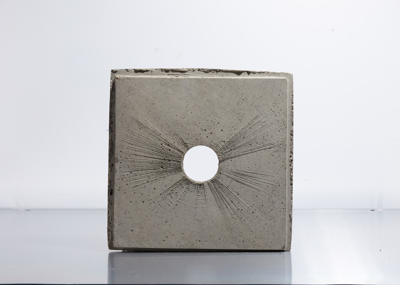 AntiVJ casts soundwaves in concrete for Ecume vinyl release