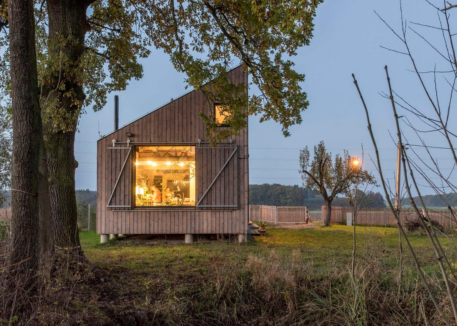 Energy Efficient Wooden House Zilvar by ASGK Design in the Czech Republic