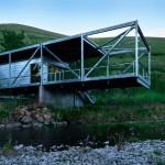Paul Hirzel lifts home above Idaho river to evade flooding and snakes
