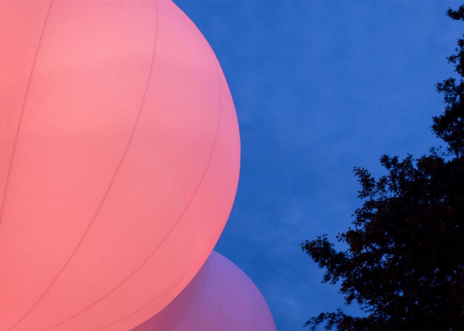 BIG creates inflatable pavilion at Roskilde Music Festival