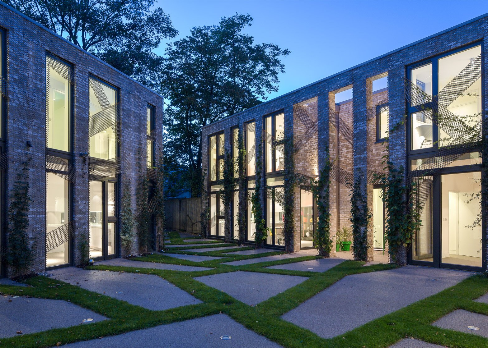 Forest Mews by Robert and Jessica Barker in Lewisham, London