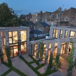 Robert and Jessica Barker build trio of London houses including live-work space for themselves