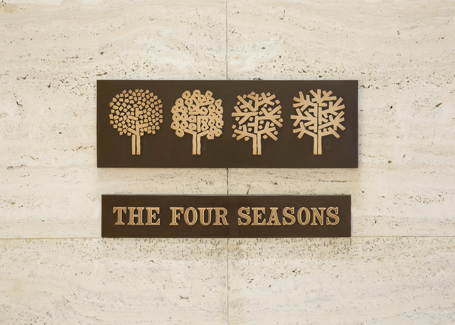 Items from the Four Seasons Restaurant Auction