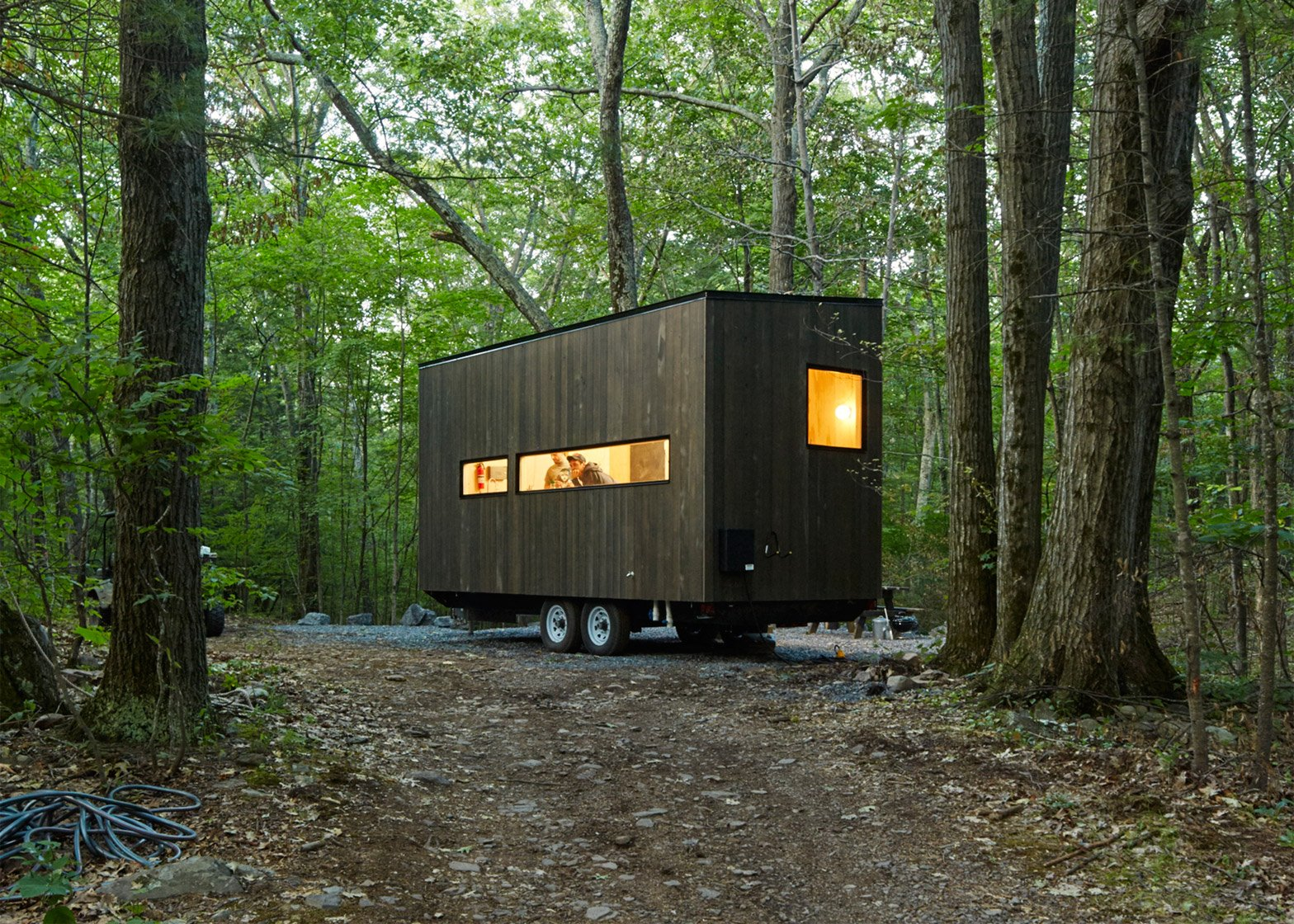 The Eleanor Cabin near New York. Photograph by Roderick Aichinger