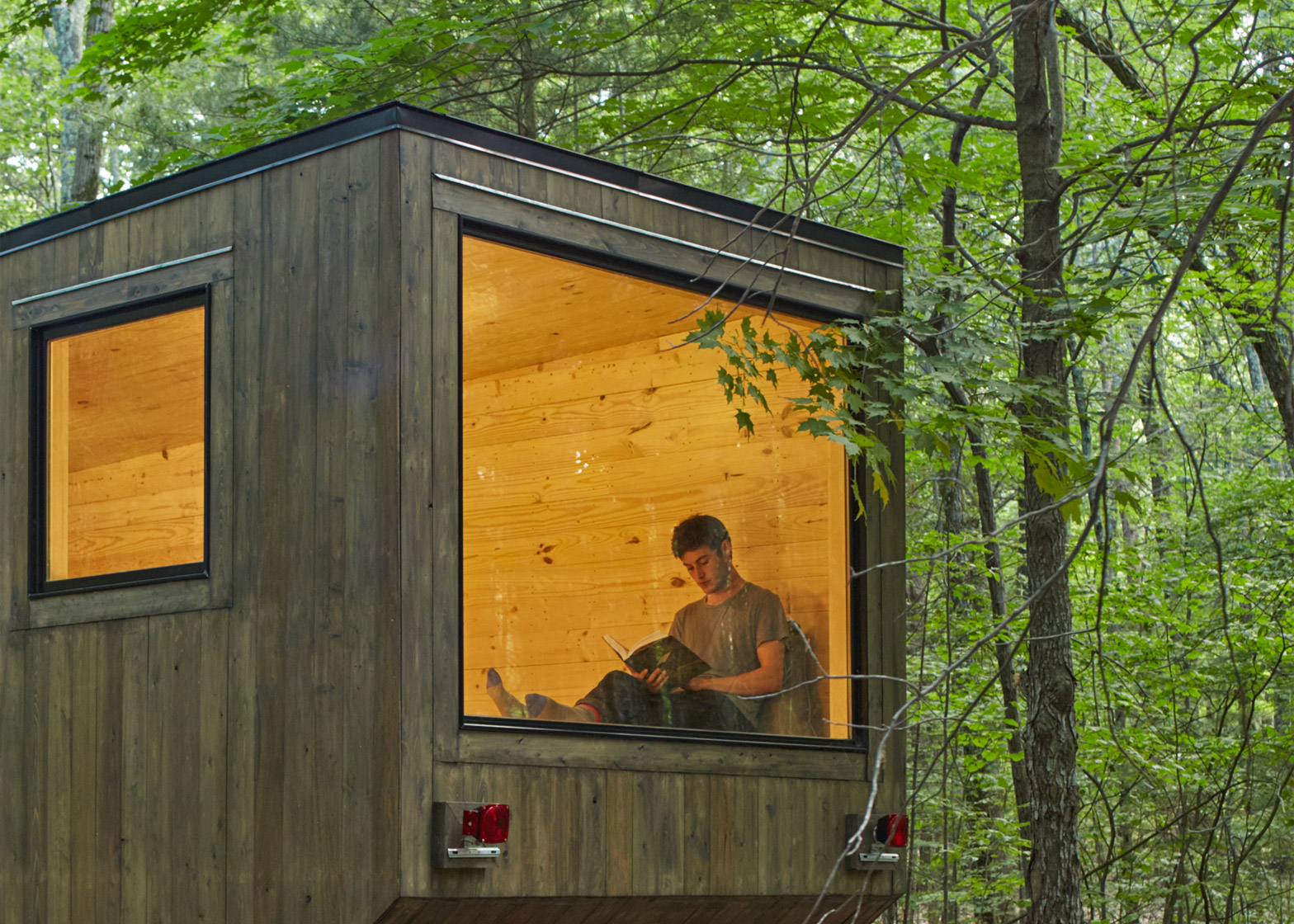 The Maisie Cabin by Getaway. Photograph by Roderick Aichinger.