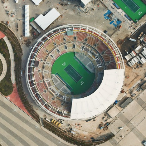 Giles Price's aerial photographs show impact of Olympic venues on Rio