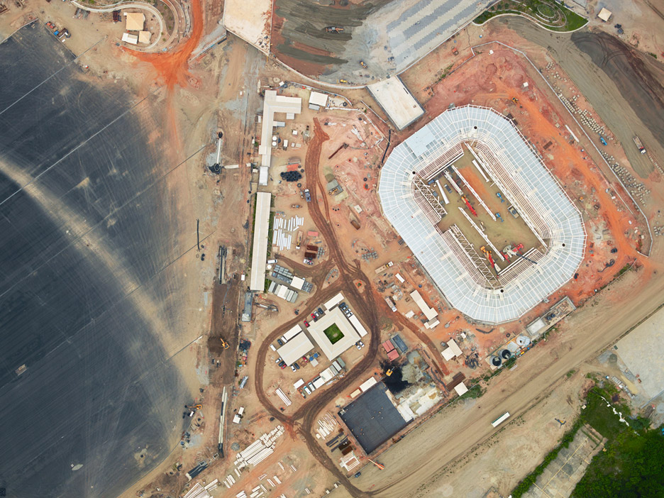 Aerial photos of Rio ahead of the Games by Giles Price