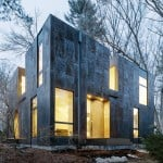 Merge Architects clads Massachusetts home in weathering steel