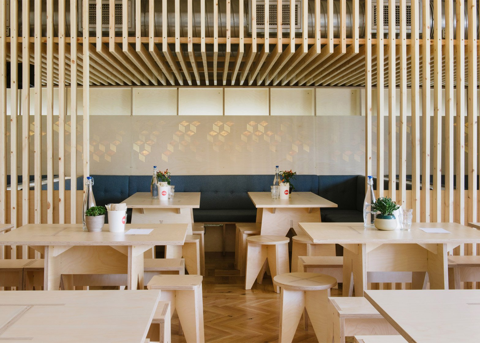 Fleet Architects design Mason and Company's new Hackney Wick bar, Here East
