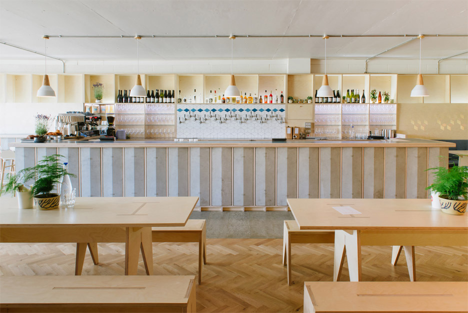 Fleet Architects design Mason and Company's new Hackney Wick bar, Here East