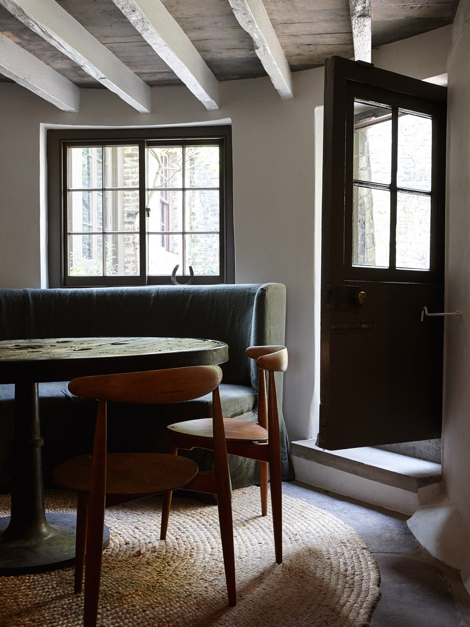 Fashion brand Hostem's first guesthouse is housed in a refurbished Georgian house in Whitechapel, London
