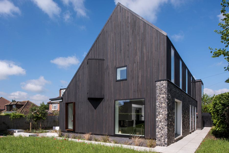 House 19 by Jestico and Whiles features materials that reference local history