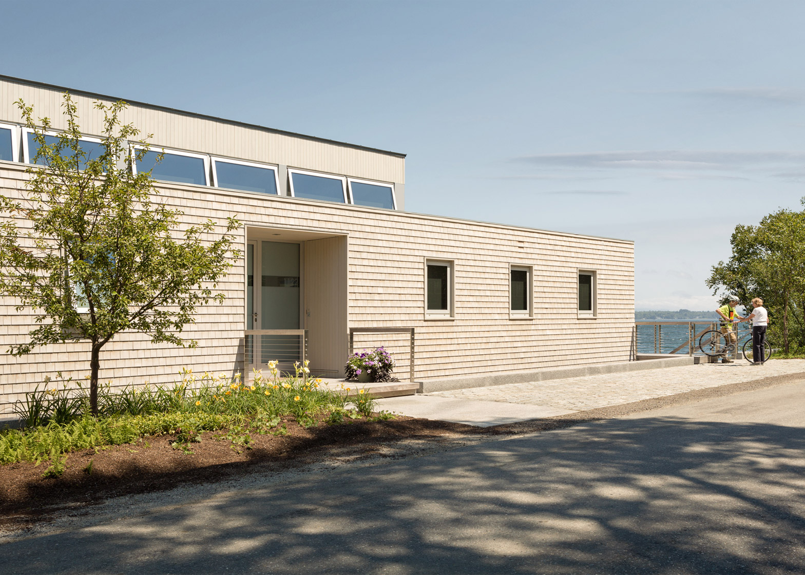 House over the sea by Elliott + Elliott