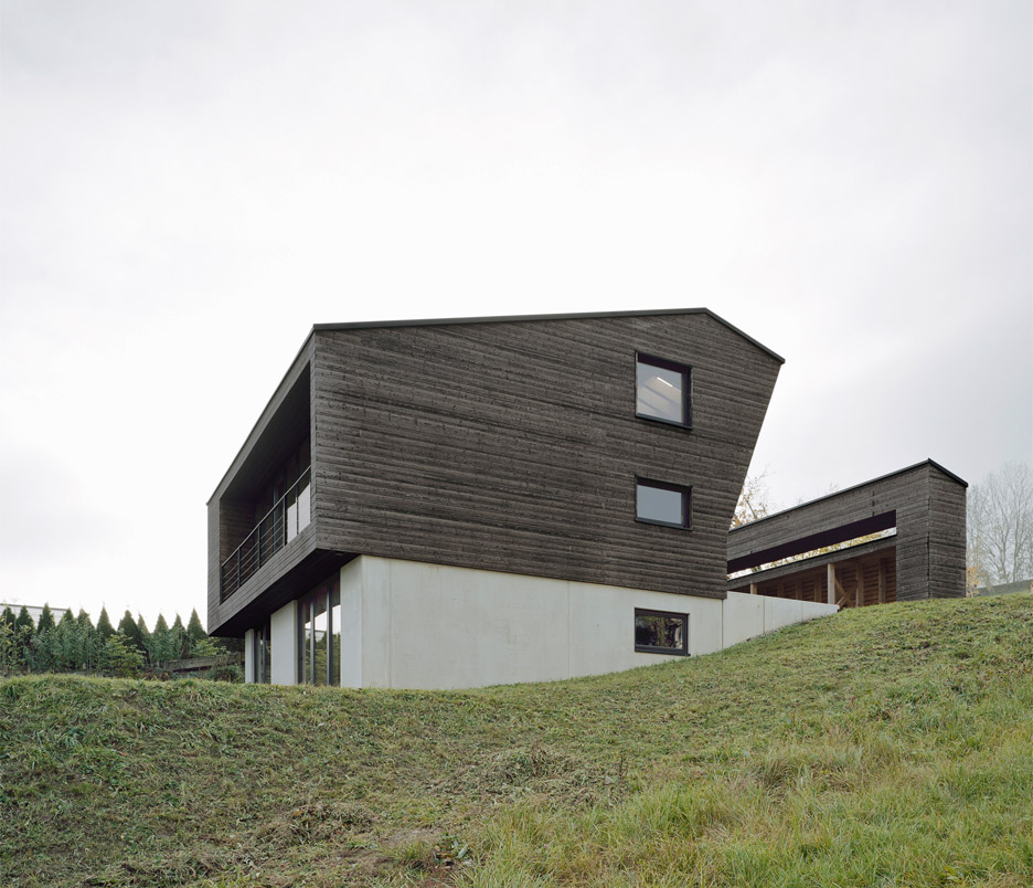 House P by Yonder architektur und design was built as a holiday home for a family from Hamburg