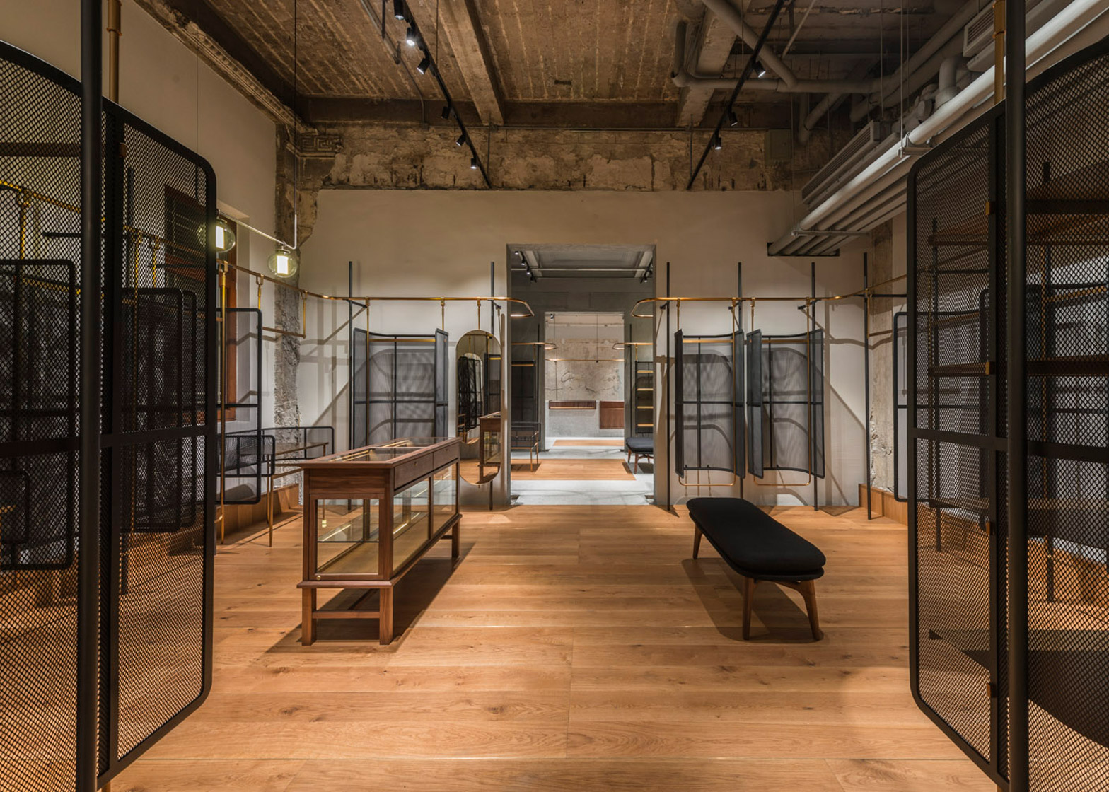Comme Moi Flagship Store, Shanghai, China, by Neri&Hu Design and Research Office