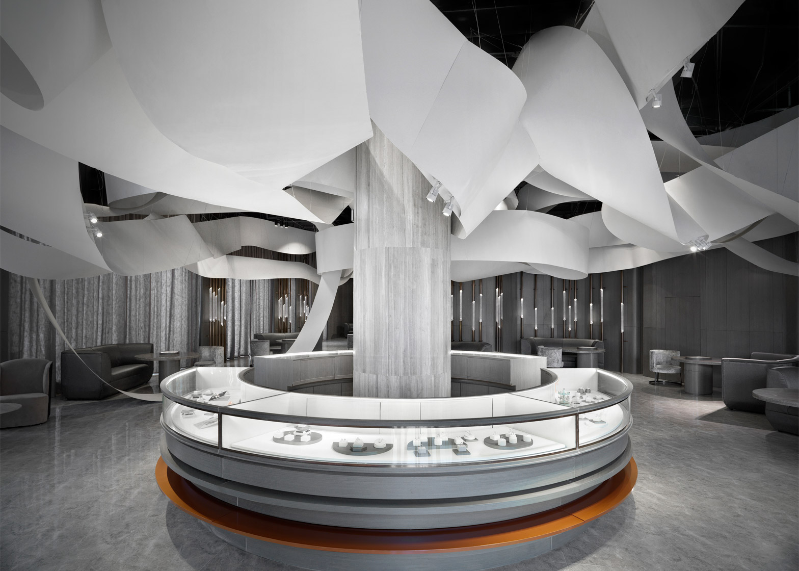 Darry Ring Jewellery Shop, Shanghai, China, by One Plus Partnership