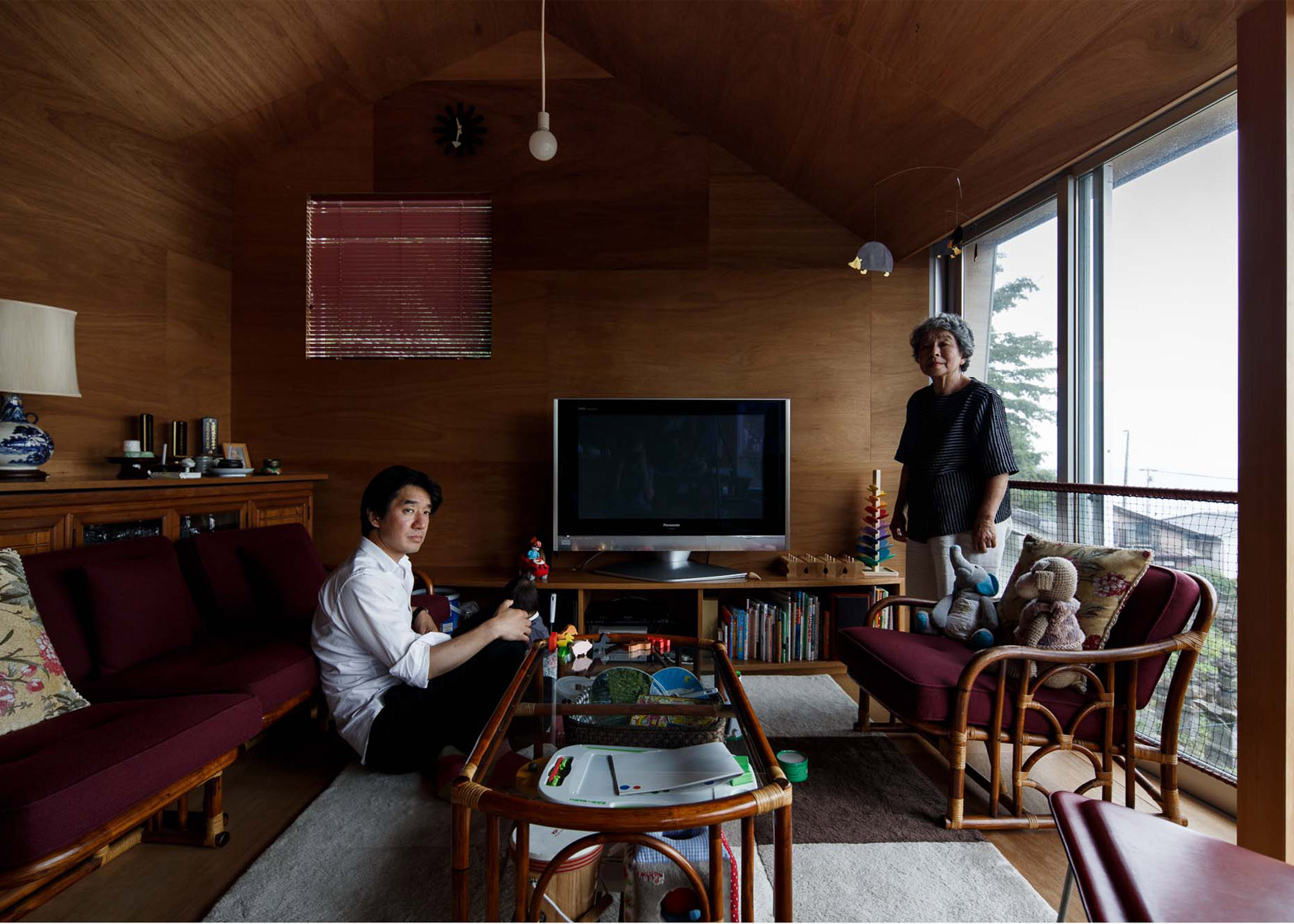Archipelago of the house in Japan