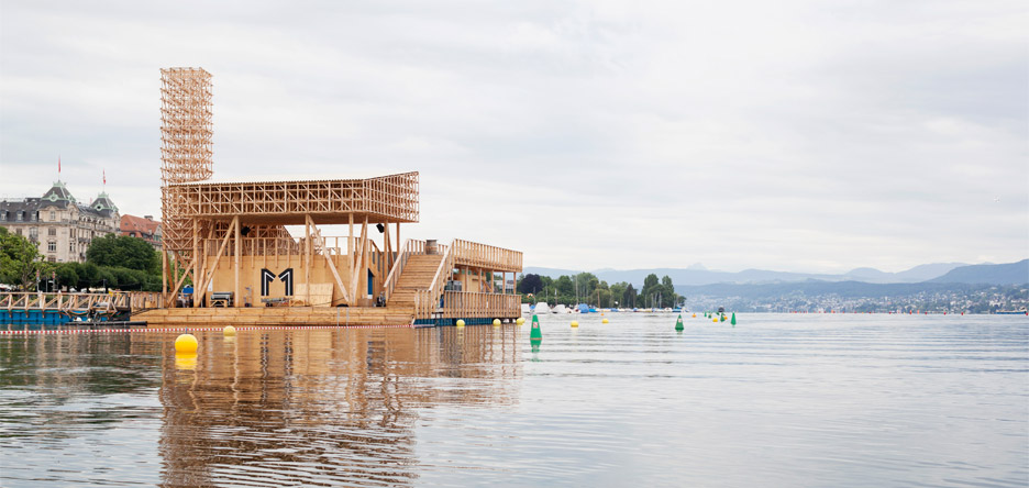 Floating Pavilion at Manifesta