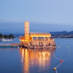 ETH Zurich students build floating wooden pavilion for Manifesta art biennale