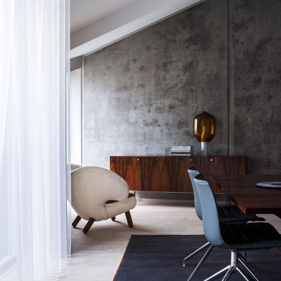 Studio David Thulstrup Avoids Using Scandinavian Furniture Inside Copenhagen Apartment Sig